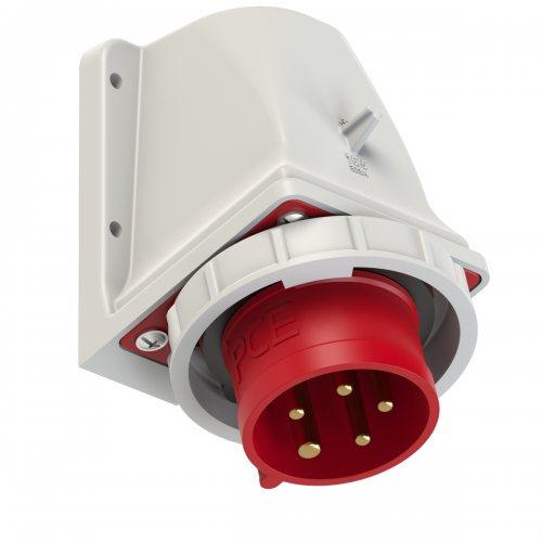 5152-6k PCE Вилка настенная 16А/400V/3P+N+E/IP67