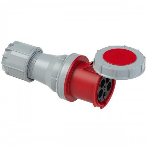 245-6 PCE Розетка кабельная 125А/400V/3P+N+E/IP67