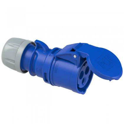 213-6 PCE Розетка кабельная 16А/230V/1P+N+E/IP44