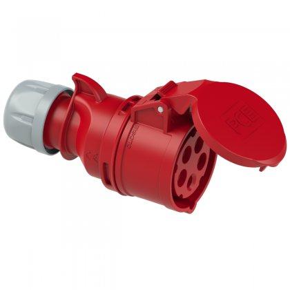215-6 PCE Розетка кабельная 16А/400V/3P+N+E/IP44