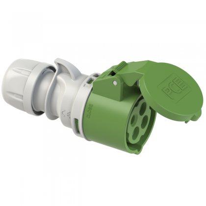 214-10 PCE Розетка кабельная 16А/400V/3P+E/IP44