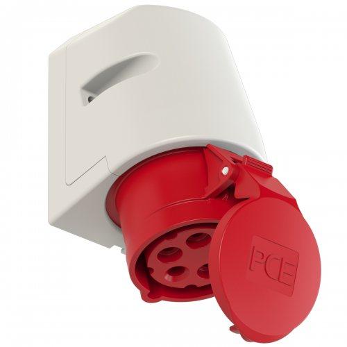 115-6 PCE Розетка настенная 16А/400V/3P+N+E/IP44