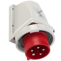5252-6kv PCE Вилка наст 32A/400V/3P+N+E/IP67 никелированные контакты