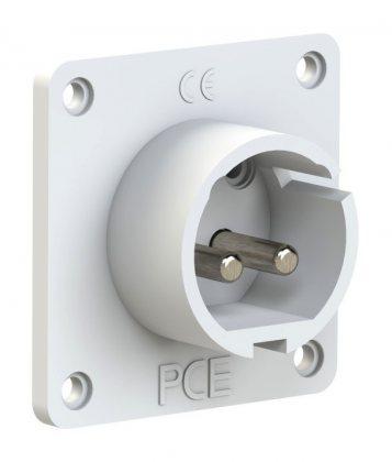 682-10 PCE Вилка встраиваемая 16А/24-42V/2P/IP44