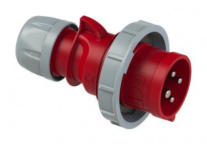 0242-3 PCE Вилка кабельная 32А/440V/3P+E/IP67