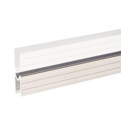 6123F Adam Hall  Профиль для материала 9.5 мм, алюминий