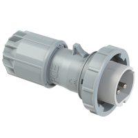 0922-10v PCE Вилка кабельная 32A/24-42V/2P/IP67, никелированные контакты