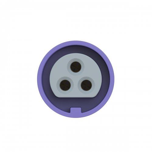 2632v PCE Розетка кабельная 16A/24V/2P+E/IP67, никелированные контакты