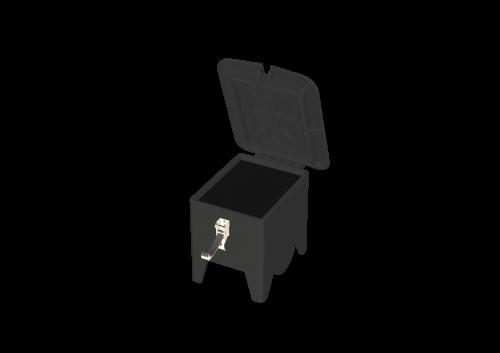 9473999W (9473997) Распред. устройство из резины пустое, переносное RIED