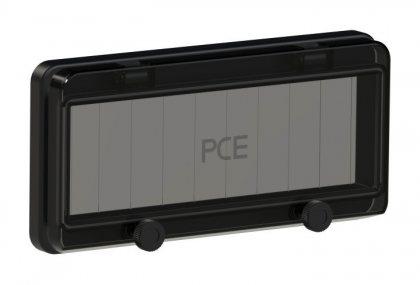 900610s-p PCE Защитное окно на 10 модулей IP67, черное