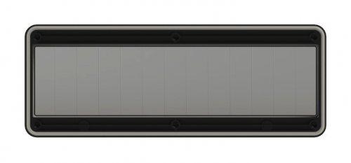900613s-p PCE Защитное окно на 13 модулей IP67, черное