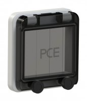 900604 PCE Защитное окно на 4 модуля IP67