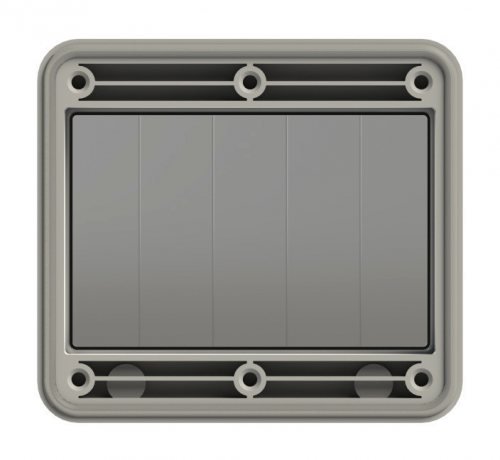 900605 PCE Защитное окно на 5 модулей IP67