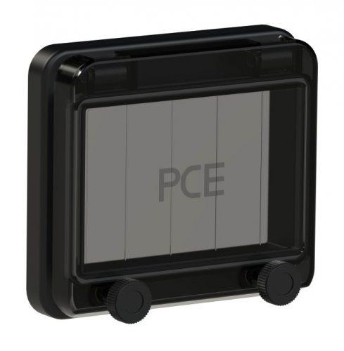 900605s-p PCE Защитное окно на 5 модулей IP67, черное