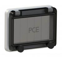 900606 PCE Защитное окно на 6 модулей IP67