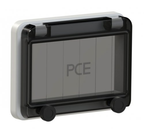 900606-p PCE Защитное окно на 6 модулей IP67