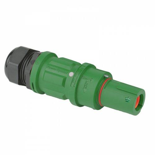 SPZ4LDEGN120MP SPZ 400А вилка кабельная Earth, зеленая