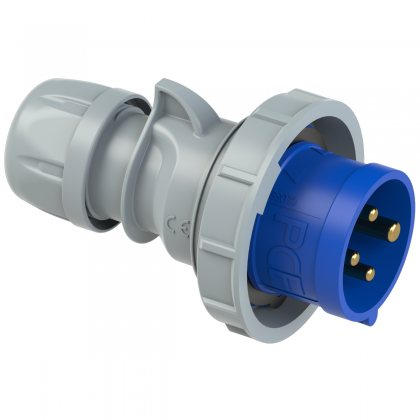 0142-9tt PCE Вилка кабельная 16А/230V/3P+E/IP67 безвинтовое подключение