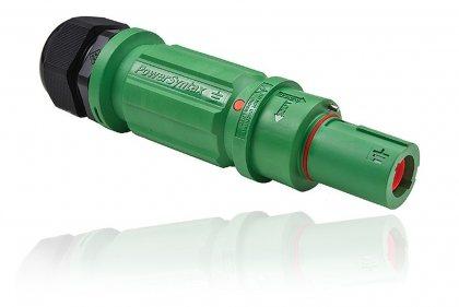 SPX4LDEGN075MP SPX 400А вилка кабельная Earthl, зеленая