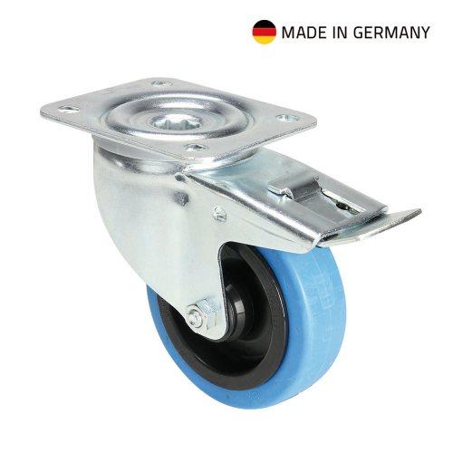 37034 Adam Hall Колесо поворотное 100 мм с тормозом