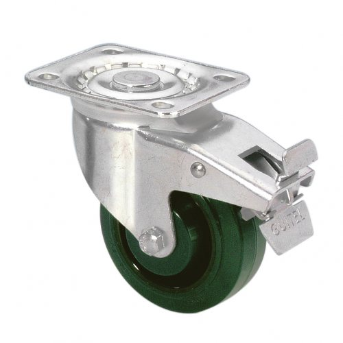 37026 Adam Hall Колесо поворотное 100 мм с тормозом