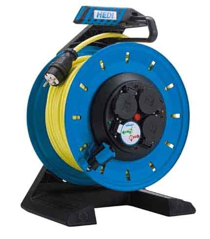 K7SR40U2TF HEDI Удлинитель на катушке из пластика D=290мм/4GS/IP54/40м AT-N07V3V3-F3G2,5/термозащита
