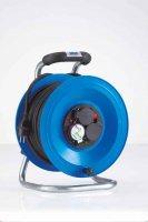 K1Y25NTF HEDI Удлинитель на катушке из пластика D=255мм/3GS/IP44/25м H07RN-F3G1,5/термозащита