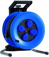 K340N2TFE HEDI Удлинитель на катушке из пластика D=320мм/4GS/IP44/40м H07RN-F3G2,5/термозащита