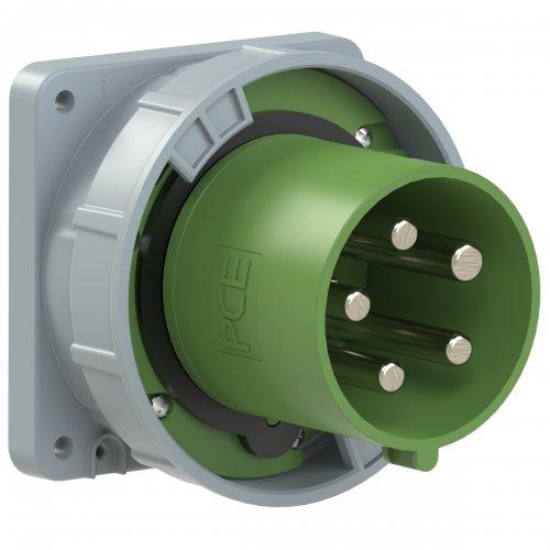 645-10 PCE Вилка встраиваемая 125А/>50-500V/3P+N+E/IP67