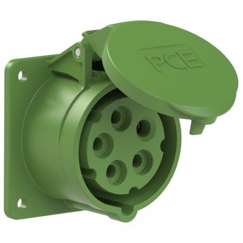 315-2f7 PCE Розетка встраиваемая 16А/50-500V/3P+N+E/IP44