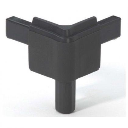 Q4502MDG Adam Hall Уголок пластиковый Easy Case System, цвет тёмно-серый