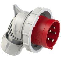 74252-6 PCE Вилка кабельная фазоинвертор, угловая 32А/400V/3P+N+E/IP67