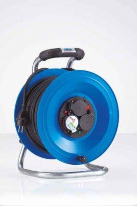 K1Y40NTF HEDI Удлинитель на катушке из пластика D=255мм/3GS/IP44/40м H07RN-F3G1,5/термозащита