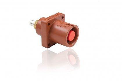 SPX4PS1RD SPX 400А розетка панельная L1, красная (UK)