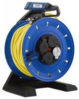 K740UTF HEDI Удлинитель на катушке из пластика D=290мм/4GS/IP54/40м AT-N07V3V3-F3G1,5/термозащита