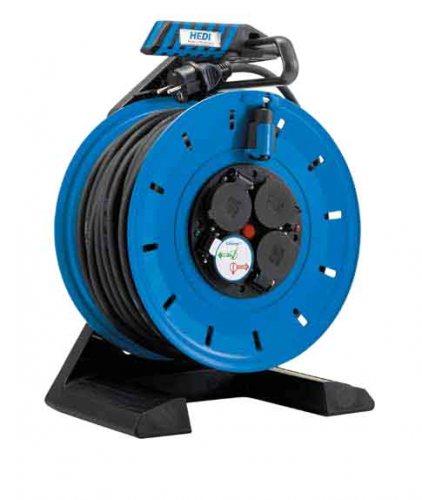 K7SR25N2TF HEDI Удлинитель на катушке из пластика D=290мм/4GS/IP54/25м H07RN-F3G2,5/термозащита