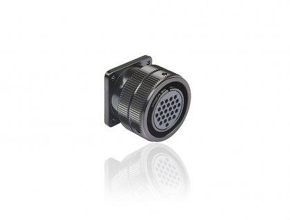 SVK025FPHSS SVK 25 pin розетка панельная, контакты серебро, под пайку