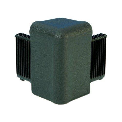 Q4504DG Adam Hall Уголок пластиковый Easy Case System, цвет темно-серый