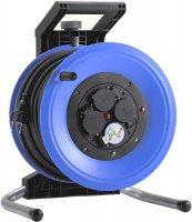 K340NTF HEDI Удлинитель на катушке из пластика D=320мм/4GS/IP44/40м H07RN-F3G1,5/термозащита