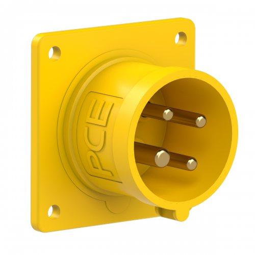 614-4 PCE Вилка встраиваемая 16А/110V/3P+E/IP44