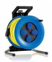 K350UTFE HEDI Удлинитель на катушке из пластика D=320мм/4GS/IP44/50м AT-N07V3V3-F3G1,5/термозащита