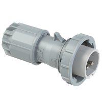 0822-10v PCE Вилка кабельная 16А/24-42V/2Р/IP67, никелированные контакты