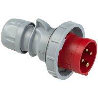 0242-6tt PCE Вилка кабельная 32А/400V/3P+E/IP67, безвинтовое подключение