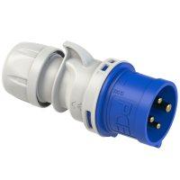 014-9 PCE Вилка кабельная 16A/230V/3P+E/IP44