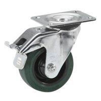 37226 Adam Hall Колесо поворотное 100 мм с тормозом для тяжелых условий эксплуатации