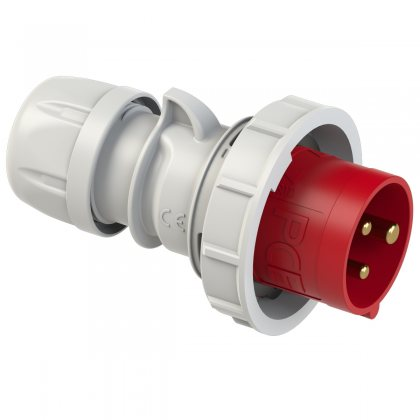 0132-9 PCE Вилка кабельная TWIST 16A/400V/1P+N+E/ IP67