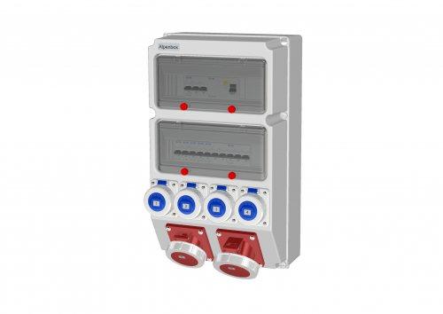 0050135 Распределительное устройство AlpenBox