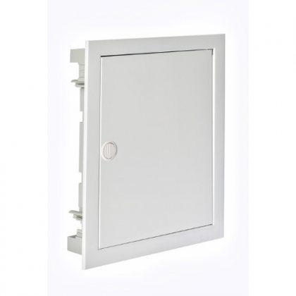 IP40 Корпус щита скрытого монтажа со стальной дверцей арт.SIL28PO/PH