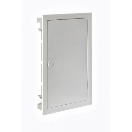 IP40 Корпус щита скрытого монтажа со стальной дверцей арт.SIL42PO/PH