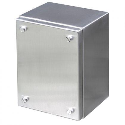 Коробка клеммная из нержавеющей стали арт.ELA4040135/INX